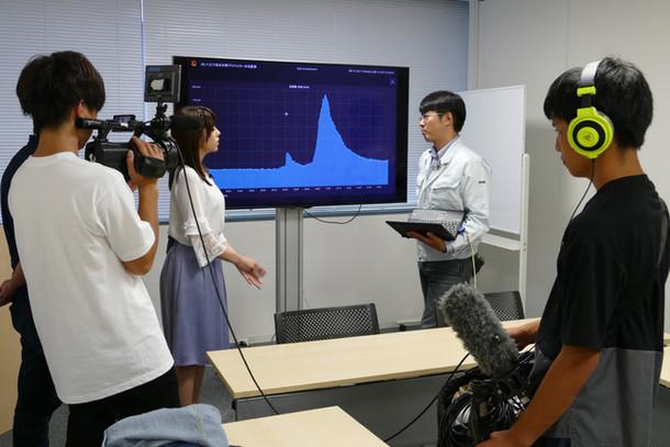 テレビ東京の取材を受けました