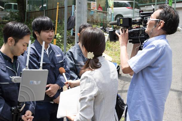 TOKYO MXの取材が行われました