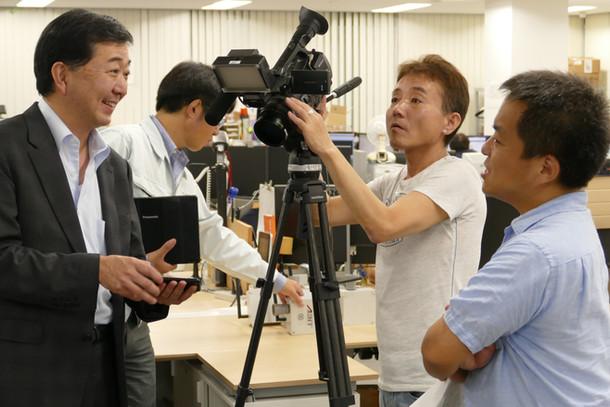 テレビ東京「ミライダネ」で放送されます