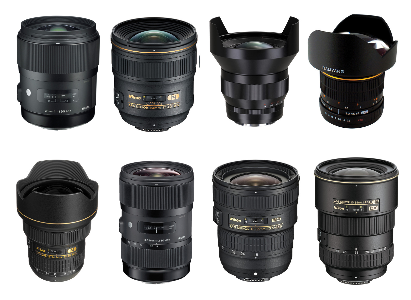 Lenses for Canon Rebel T6