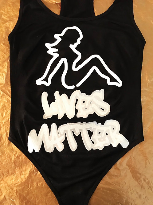 STRIPPERS LIVES MATTER CUSTOM GOLDDIMES OUTFIT!!!