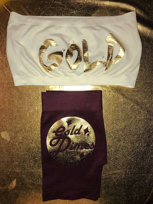 CUSTOM TWO PIECE GOLDDIMES OUTFIT!!!