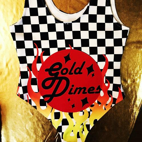 🔥🔥🔥 CUSTOM HIGH-WAISTED GOLDDIMESOUTFIT!!!