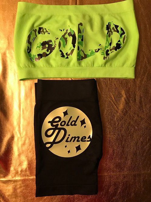 CUSTOM 💚💚💚 GOLDDIMES 2 PIECE OUTFIT!!!