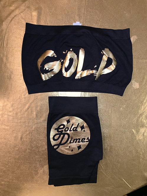 TWO PIECE GOLDDIMES OUTFIT!!!