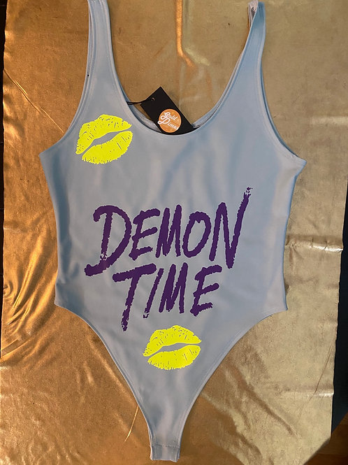 😈😈😈 DEMON TIME CUSTOM SPANDEX OUTFIT!!!