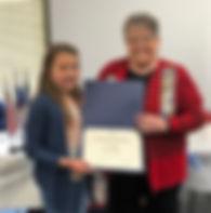 Emma receives certificate.jpg