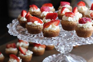 Minimuffin fragole e panna