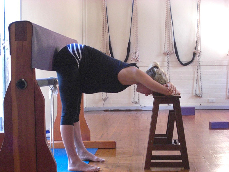 Clare-Supported-Uttanasana