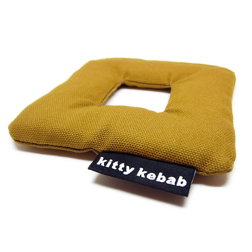 Cat Toy - Square - Brown