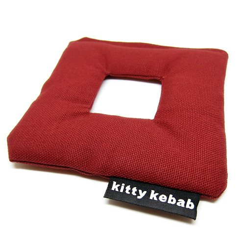 Cat Toy - Square - Red