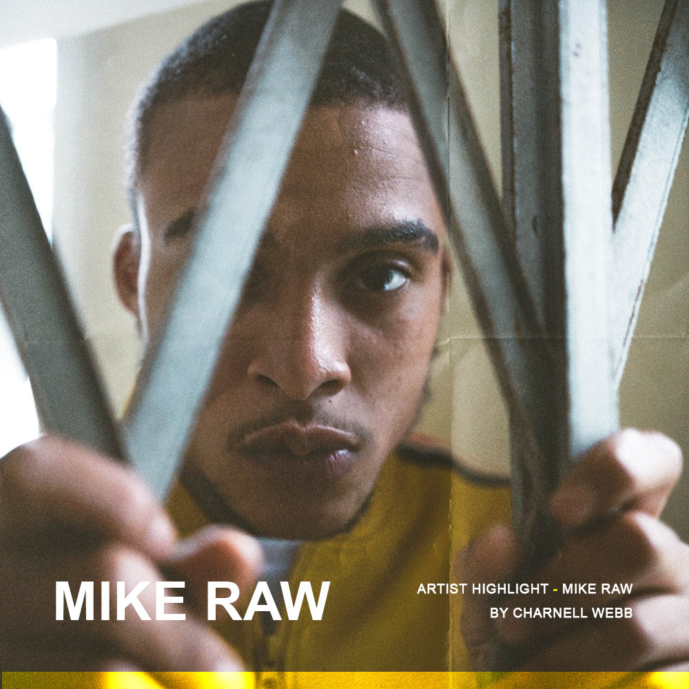 Artist Highlight - Mike Raw by Charnell Webb, Dinner Land
