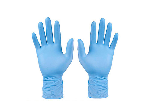 Nitrile Disposable Gloves: Box of 100
