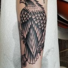 Eagle Tattoo by Eric Frisone - Hooper Iron Works