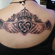 Claddah Ring Tattoo by Eric Frisone - Hooper Iron Works