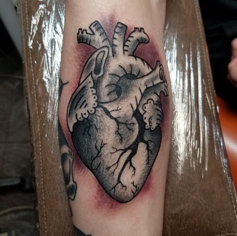 Heart Tattoo by Eric Frisone - Hooper Iron Works