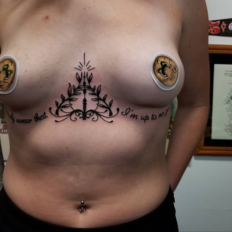Harry Potter Tattoo by Eric Frisone - Hooper Iron Works