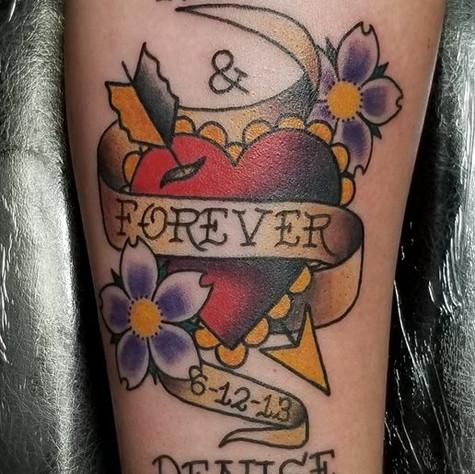 Tattoo by Eric Frisone - Hooper Iron Works