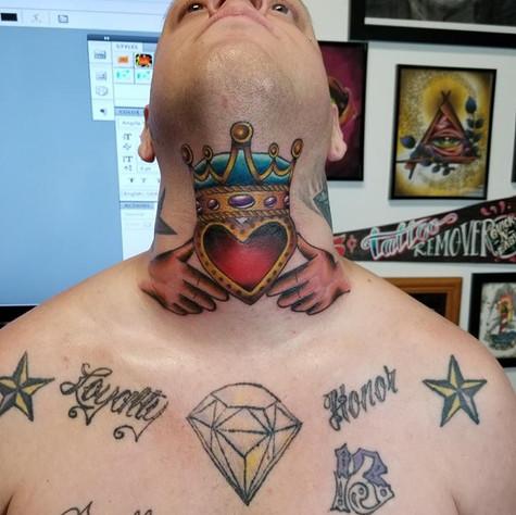Claddah Tattoo by Eric Frisone - Hooper Iron Works