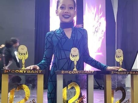 Triunfo de Ana Sofía en All Dance International
