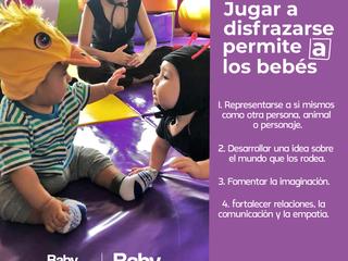 Beneficios de disfrazar a tu bebé