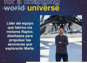 Sebastián Torres, camino a Marte 🚀