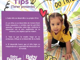 Tips para el desarrollo de tu niño! 👶💡