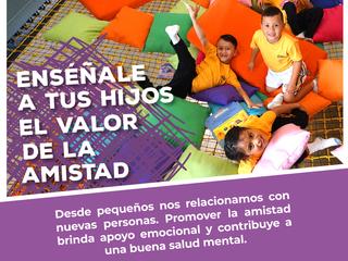 ¡Enséñale a tus hijos el valor de la amistad!👶👧💜