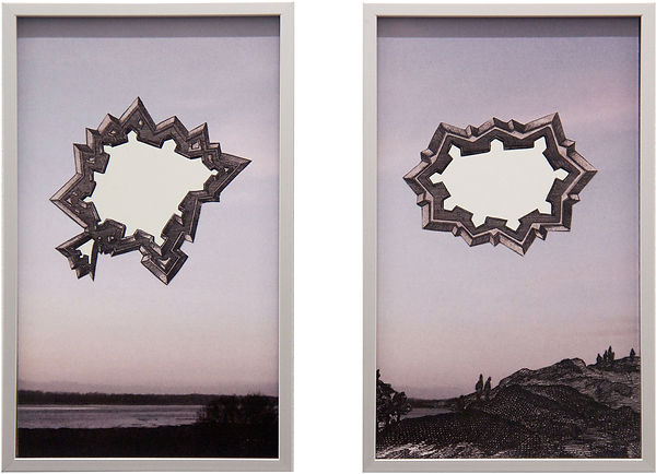 Wolfgang Wirth, painting, Malerei, Belo-Galsterer, Austrian, Foritified Infinity