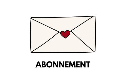 Maandbrief in je brievenbus