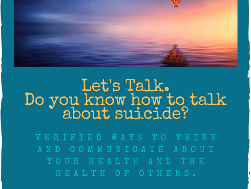 Write Up on Suicide Awareness