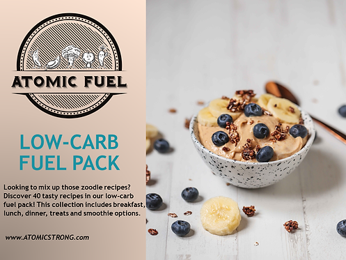 Low Carb Fuel Pack - AtomicFuel
