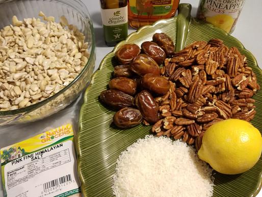 Atomic Fuel! ⚛ Raw Food Pina Colada Cheesecake