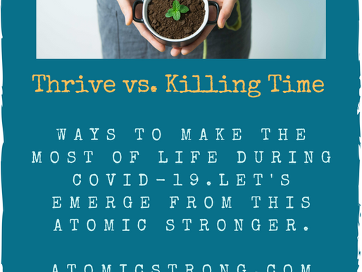 Thrive Vs. Killing Time!
