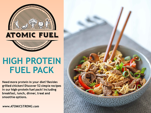 High Protein Fuel Pack - Atomic Fuel