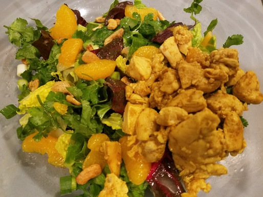 Atomic Fuel ⚛ Asian Chicken Salad