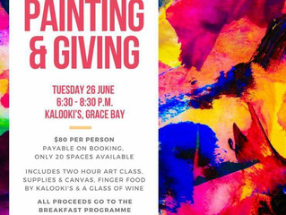 Painting & Giving Painting Class