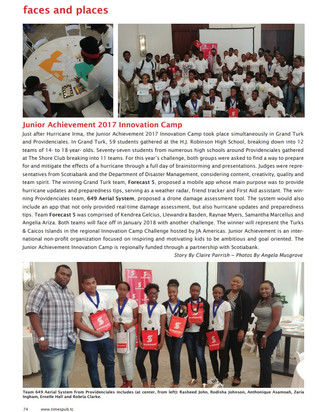 JATCI Innovation Camp article in Time of the Island Magazine 2018