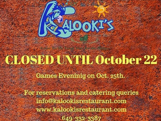 Restaurant Season Closure