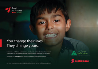 """Scotiabank brightens the """"Road to Success"""" of more than 50,000 youth"""