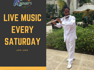 Live Music Every Saturday at Kalookis Restaurant