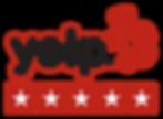 Five Star Rating on Yelp