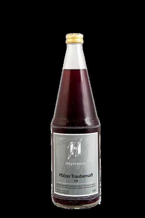 Pfälzer Traubensaft 1,0l -rot-