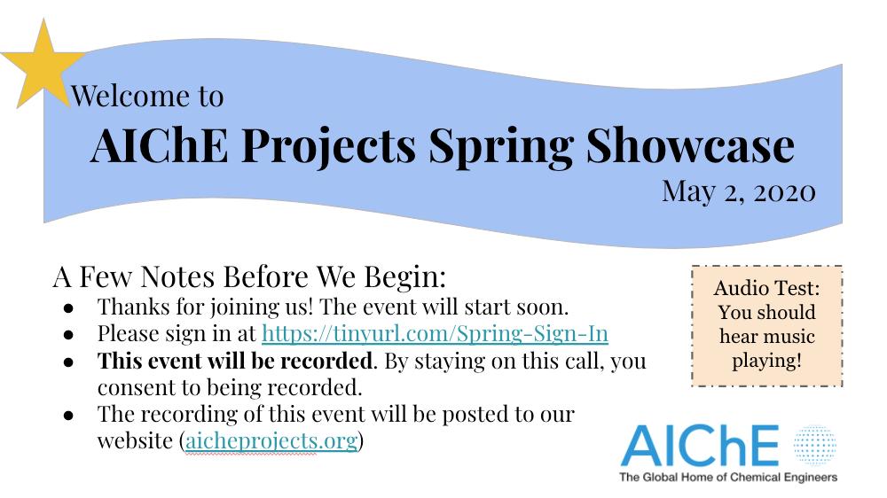 2020 Spring Showcase