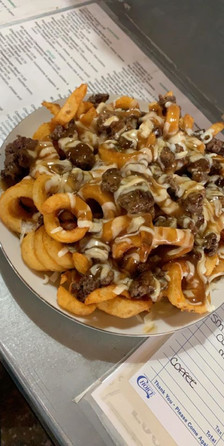 Hamburg Curly Fry Poutine