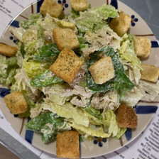 1/2 Chicken Caesar Salad