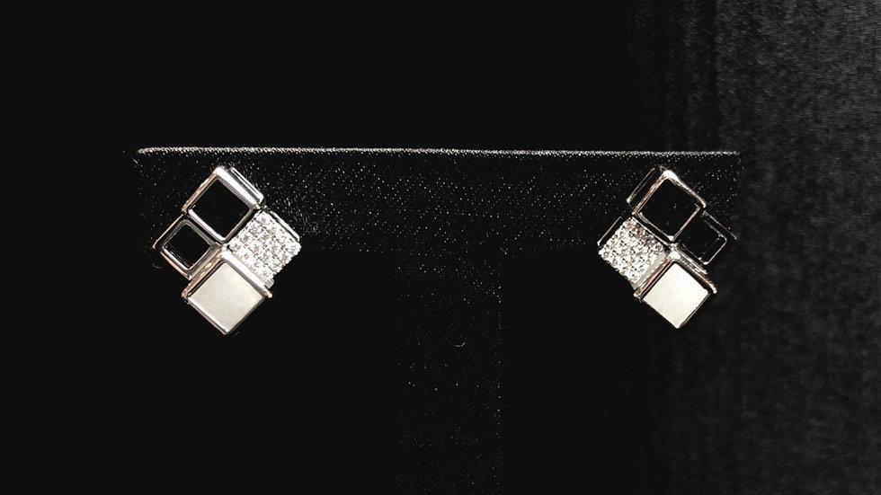 Quadruple Dice Earring