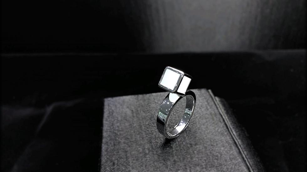Ice Jadeite Ring