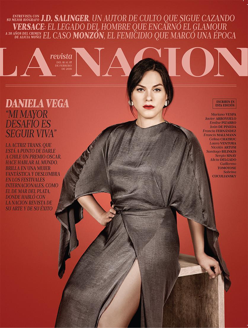 LA NACION REVISTA. Daniela Vega
