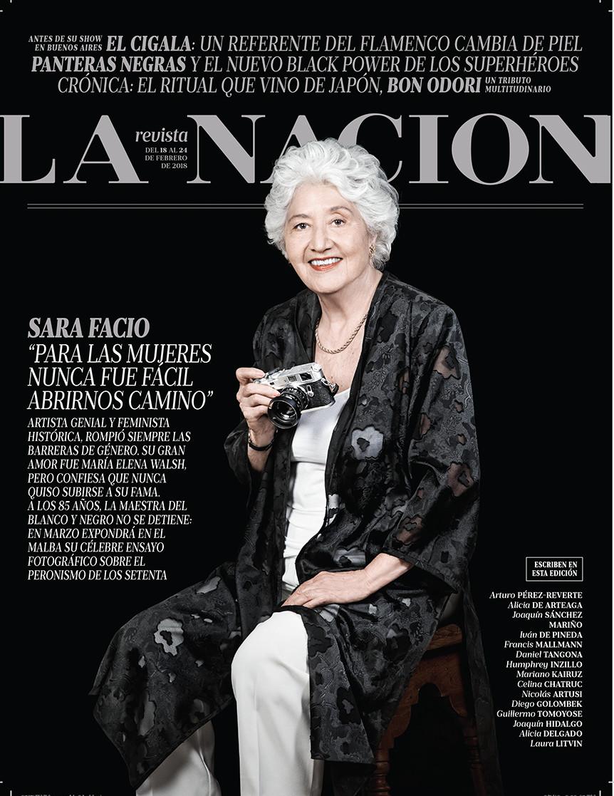 LA NACION REVISTA. Sara Facio